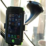 Twist & Lock Spring Grip Rubber Lip Car Mount for the Apple iPhone 5 (sku 18036)