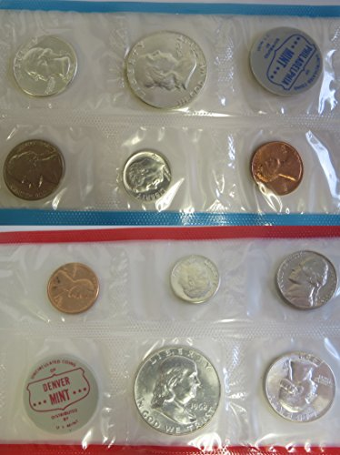 1962 US Mint Set in Original Mint Packaging - Price includes - Us Price
