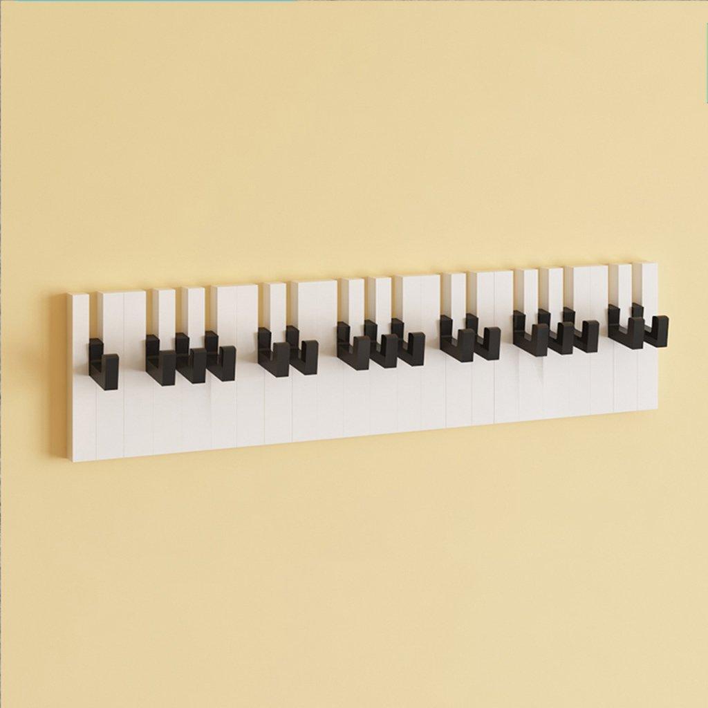 Amazon.com: GJM Shop Fibreboard Piano Shape Linked Coat Rack ...
