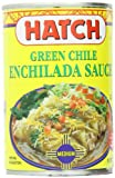 Hatch Green Chile Enchilada Sauce, Medium, 15 Ounce (Pack of 12)