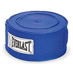 Everlast Hand Wraps, Blue, 4.5 Metre Length