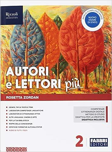Book's Cover of Autori e lettori più. Con Quaderno e Letteratura. Per la Scuola media. Con ebook. Con espansione online. Con DVD-ROM: 2 (Italiano) Copertina flessibile – 1 gennaio 2018