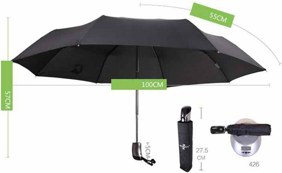 folding umbrella double oversized triple Kaxima Automatic umbrella student 57x100cm rain umbrella reinforcement