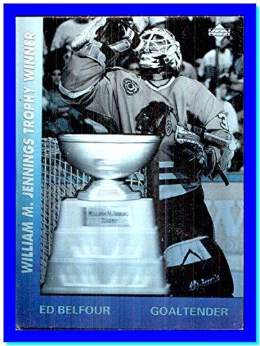 (1991-92 Upper Deck Award Winner Holograms #AW2 Ed Belfour CHICAGO BLACKHAWKS Goalie William Jennings)
