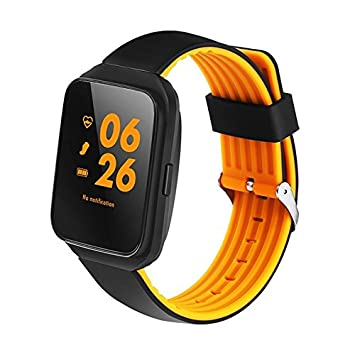 Montre connectée Z40 Montre cardiofréquencemètre compatible Android et iOS Orange