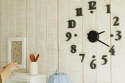 Design yourself DIY Orologio da parete: Amazon.it: Casa e cucina