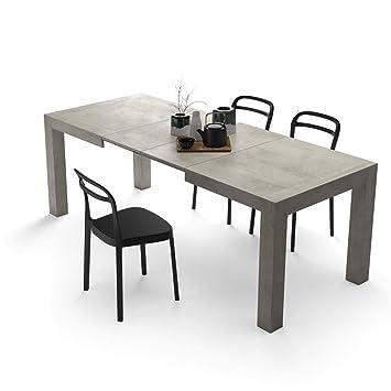 Mobili Fiver, Table Extensible Cuisine, Iacopo, Ciment, 140 x 90 x ... 6acebc5aee1e