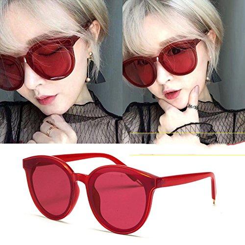 de C retro Cara sol de pequeña mujer Gafas de cara de sol ojo gafas mujer ojos C de de sol sunscreen GPC redonda gafas AnPpqCxwHC
