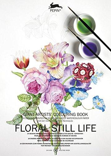 Pepin Floral Still Life Carta di Tipo Libro, 42 X 30 cm Pepin Van Roojen Pepin Press 9789460098550 NON-CLASSIFIABLE