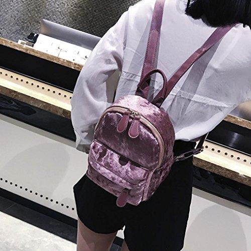 pour S dos femme à Sac porté Y56 au bonbon rose main wFxOYS7H1q