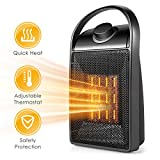 Space Heater, Portable Quiet Ceramic Space Heater,...