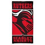 Rutgers Scarlet Knights NCAA 30 x 60 Inch Beach Dorm Towel