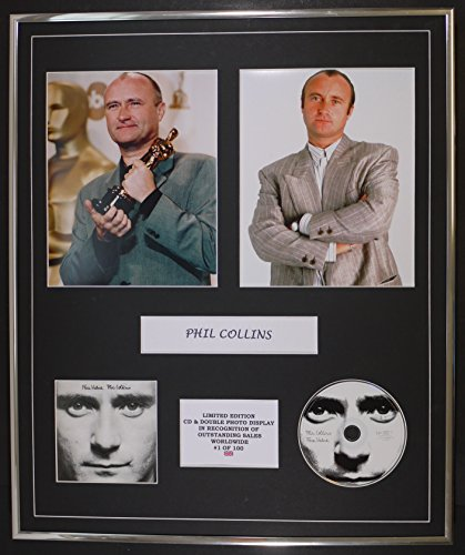 Price comparison product image PHIL COLLINS / CD & DOUBLE PHOTO DISPLAY / LTD. EDITION / COA / FACE VALUE