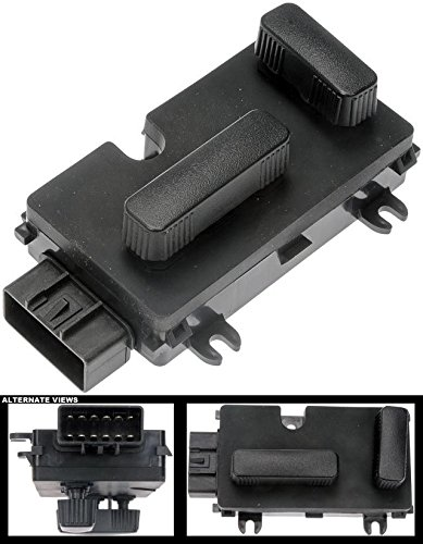 Price comparison product image APDTY 118330 Power Seat Adjust Recline Recliner Switch Fits Front Left 1999-2006 Cadillac Escalade Avalanche Silverado Suburban Tahoe Sierra Yukon Hummer H2 (Fits 2007 Classic Models; 12450166)