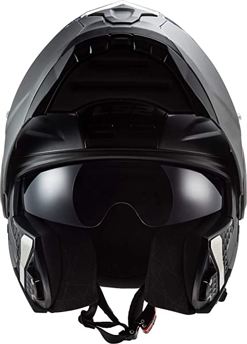 Ls2 Motorradhelm Ff902 Scope Solid Matt Titanium Titanium L Auto