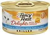 Purina Fancy Feast Delights with Cheddar White Fish, 3-Ounce (Pack of 24), My Pet Supplies