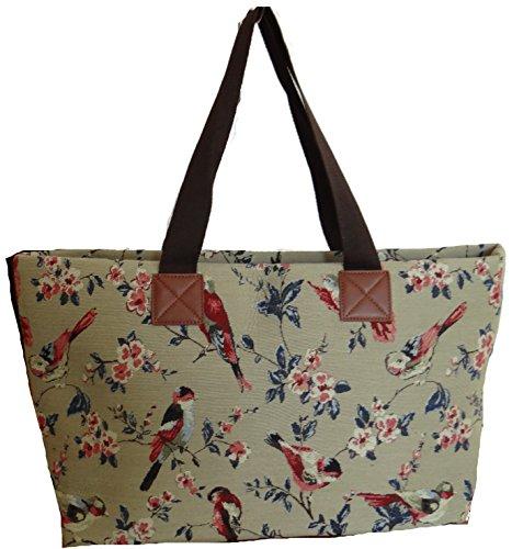 Gossip Girl - Ladies Large Tapestry Style Tote Handbag Shopper
