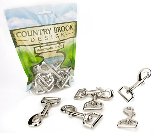 (10 - Country Brook Design 1 Inch Swivel Snap)