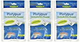 Dental Floss for Braces Platypus Orthodontic Flosser, 30 Count (Pack of 3)