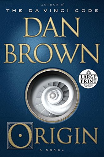 Origin: A Novel (Random House Large Print)