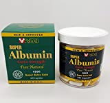 Cheap New & Improved Super Albumin Gold Extra Strenth 1500 mg 200 Capsules