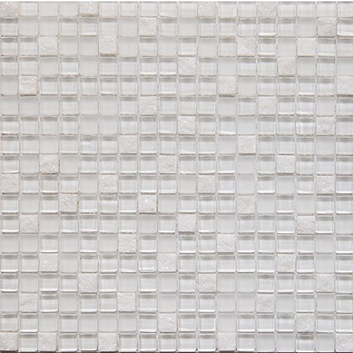 Glass and Stone Mosaic Tile,