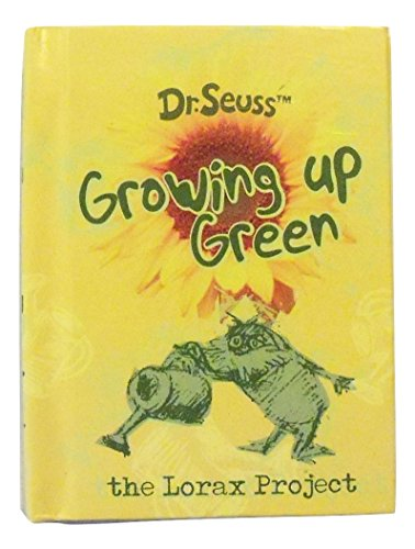 Dr. Seuss The Lorax Project Little Notebooks ~ Growing Up Green (82 Blank Recycled Pages)