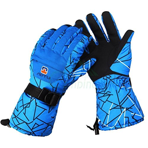 Men Winter Warm Waterproof -35¡æ Snow Motorcycle Snowmobile Snowboard Ski Glove
