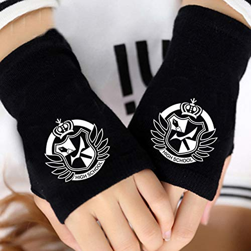 Monokuma Bear Plush Stuff Accessories Dolls Winter Anime Toys Soft Cartoon Stuffed Doll Fingerless Gloves Unisex Gifts Must Have Gifts Friendship Gifts The Favourite Anime Superhero Party Favors