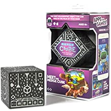 MERGE Cube - Hold Holograms in Your Hand with Award Winning AR Toy for Kids - iOS or Android Phone or Tablet Brings the Cube to Life, Free Games With Every Purchase, Works with Merge VR/AR Goggles