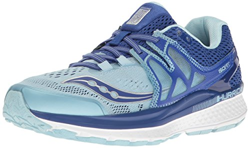 Saucony Women's Hurricane ISO 3 Running Shoe, Blue/Light Blue, 8.5 M US (Hurricane Iii)