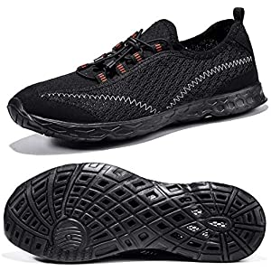 Alibress Men's Sports Water Shoes Lightweight Quick Dry Aqua Outdoor Water Shoes