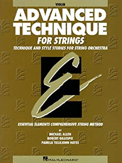 amazon com essential technique for strings original series