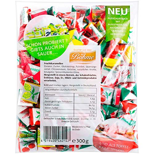 From Germany Bohme Fruit Candies Sour 300g