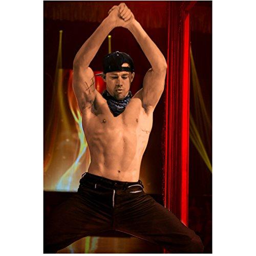 Magic Mike XXL 8x10 Photo Channing Tatum Shirtless Dancing Arms Over Head kn
