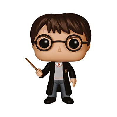 Funko POP Movies: Harry Potter Action Figure, Standard: Funko Pop! Movies:: Toys & Games