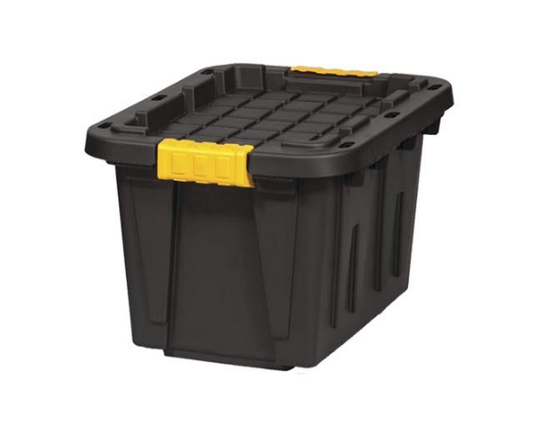 Amazon.com: Caja resistente de 12 galones de almacenamiento ...