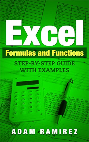 amazon com excel formulas and functions step by step guide with