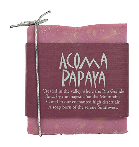 Sandia Soap Company Handmade Papaya