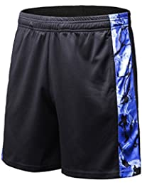 "Men's 7"" Quick Dry Workout Running Mesh Shorts with Pockets"