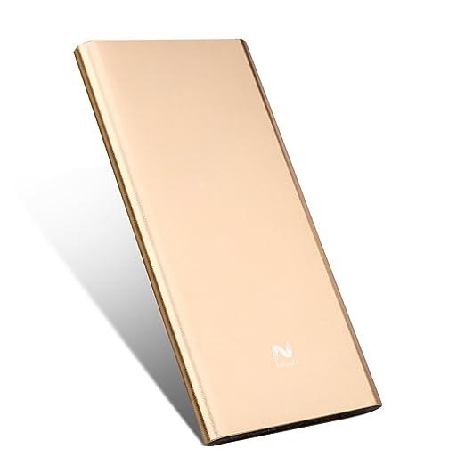 50 opinioni per Keluoer Ultra Slim Power Bank doppia porta USB esterna mobile Battery Pack per