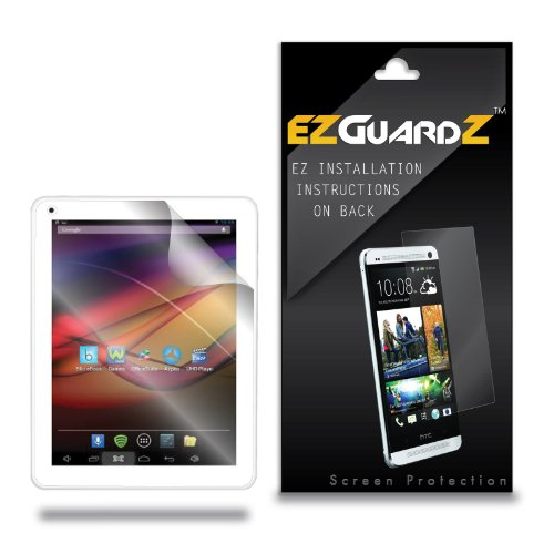 (2-Pack) EZGuardZ Tablet Screen Protector for Azpen A840 8