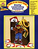 Early Learning Centers, Grades PreK-K, Evan-Moor, 1557998388
