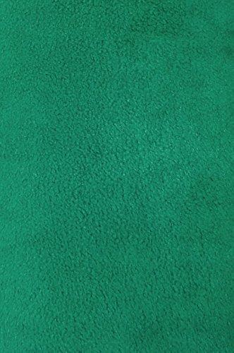 Anti Pill Fleece - 4 Yard Bolt Anti Pill Hunter Green Fleece Polyester Fabric