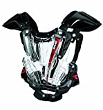 EVS Sports VEX Chest Protector (Clear/Black, Youth Small)