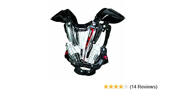EVS VEXBK-L Vex Chest Protector Lg Clear//Black