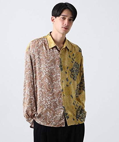 [ ティーケー タケオキクチ ] カジュアルシャツ マルチペイズリービッグシャツ 17088112 メンズ