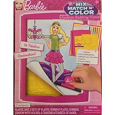 Barbie Mix & Match Color Activity Set: Toys & Games