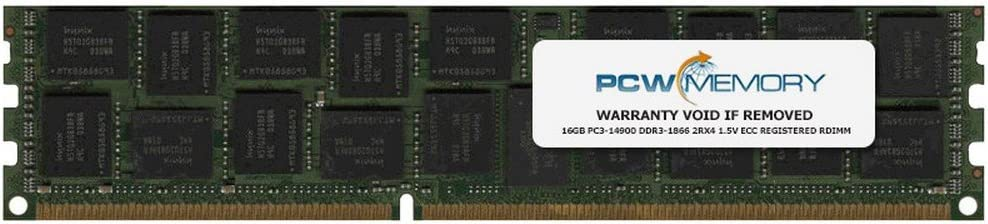 IBM Compatible 16GB PC3-14900 DDR3-1866 2Rx4 1.5v ECC Registered RDIMM IBM PN# 46W0779