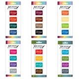 Ranger Archival Ink Mini Pads - Sets 1-4 and Wendy Vecchi Sets 1-2 - Bundle of 24 Gorgeous Colors in Mini Ink (1.25 inch x 1.75 inch) Pads